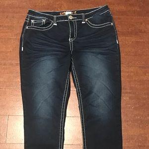 Women's skinny jeans, brand Hydraulic dark wash